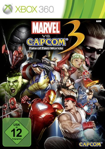Marvel vs. Capcom 3 - Fate of Two Worlds Xbox 360 artwork