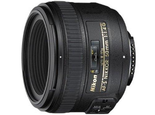 Nikon AF-S FX NIKKOR 50mm f/1.4G Lens with Auto Focus for Nikon DSLR Cameras product image