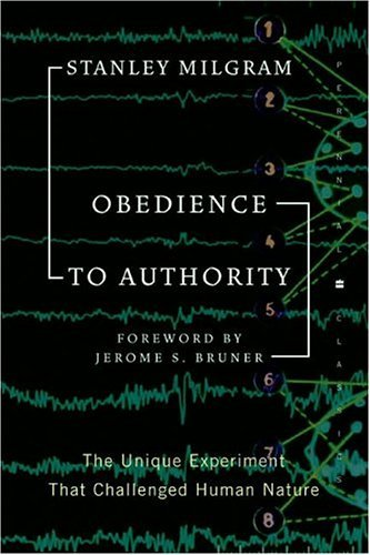 Obedience to Authority   2004 9780060737283 Front Cover