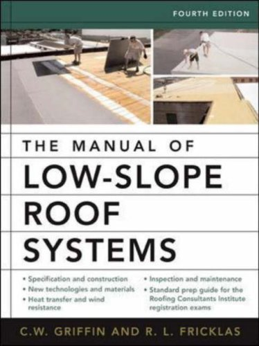 Manual of Low-Slope Roof Systems  4th 2006 (Revised) 9780071458283 Front Cover