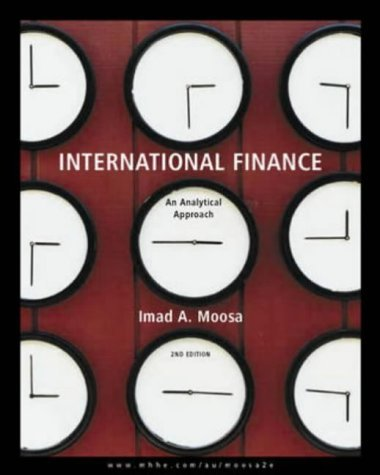 International Finance: An Analytical Approach  2004 edition cover
