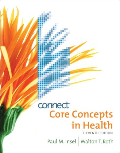 Core Concepts in Health with Connect Bind-in Card 11th 2010 edition cover