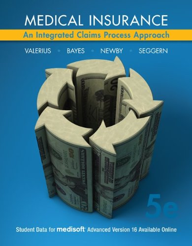 Medical Insurance An Integrated Claims Process Approach 5th 2012 9780077485283 Front Cover
