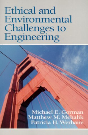 Ethical and Environmental Challenges to Engineering   2000 edition cover