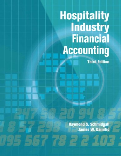Hospitality Industry Financial Accounting:   2012 edition cover