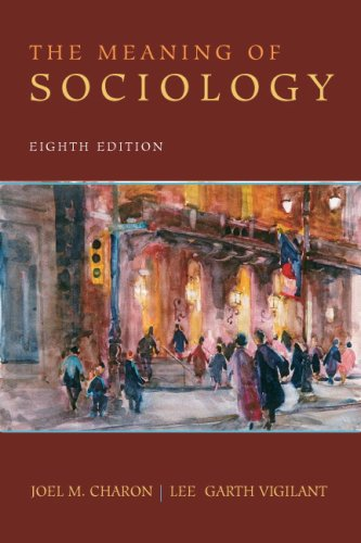 Meaning of Sociology  8th 2009 edition cover
