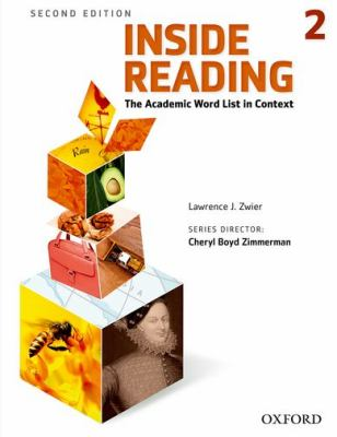 Inside Reading, Level 2 The Academic Word List in Context 2nd 2012 (Student Manual, Study Guide, etc.) edition cover