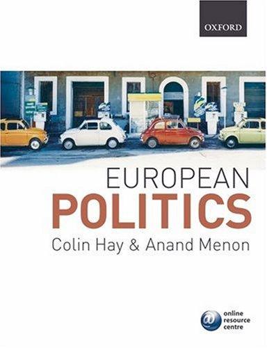 European Politics   2007 edition cover