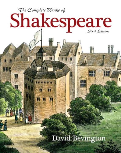 Complete Works of Shakespeare  6th 2009 edition cover