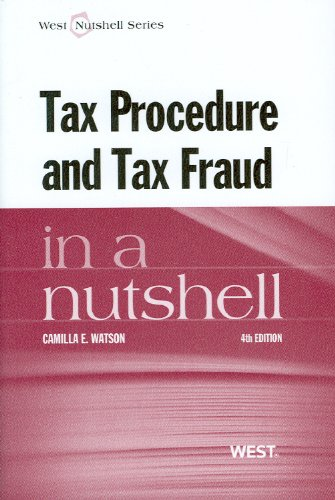 Tax Procedure and Tax Fraud  4th 2012 (Revised) edition cover