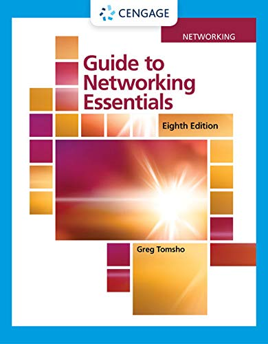 Guide to Networking Essentials  8th 2020 (Revised) 9780357118283 Front Cover