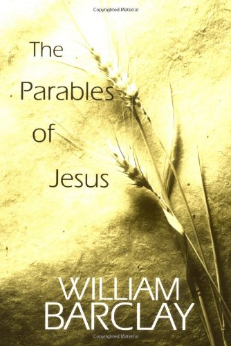 Parables of Jesus   1999 (Reprint) edition cover