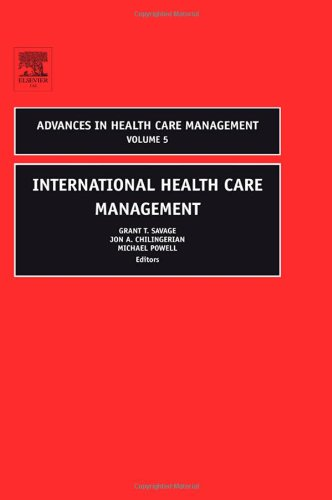 International Health Care Management   2005 9780762312283 Front Cover