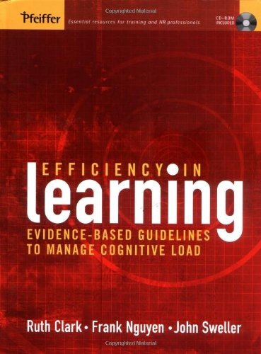 Efficiency in Learning Evidence-Based Guidelines to Manage Cognitive Load  2006 edition cover