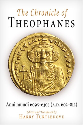 Chronicle of Theophanes Anni Mundi 6095-6305 (A. D. 602-813)  1982 edition cover