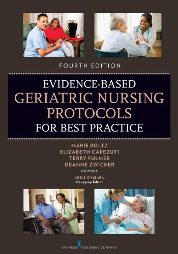 Evidence-Based Geriatric Nursing Protocols for Best Practice  4th 2012 edition cover