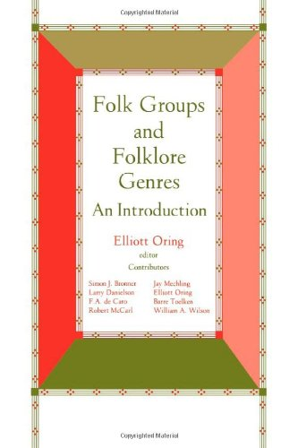 Folk Groups and Folklore Genres An Introduction N/A edition cover