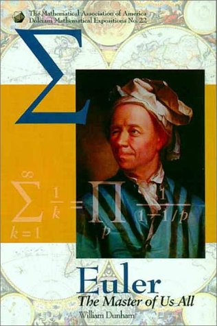 Euler The Master of Us All  1999 edition cover