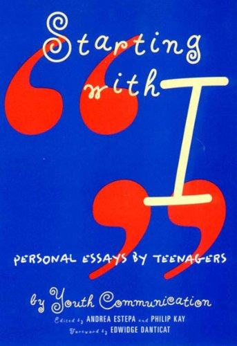 Starting with I Personal Essays by Teenagers  1997 edition cover