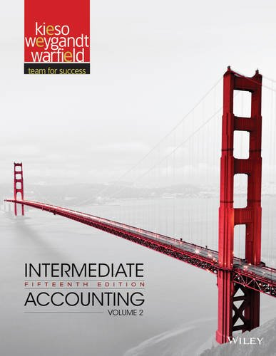 Intermediate Accounting  15th 2013 edition cover