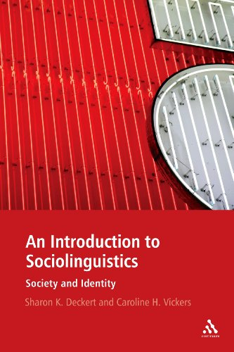 Introduction to Sociolinguistics Society and Identity  2011 edition cover