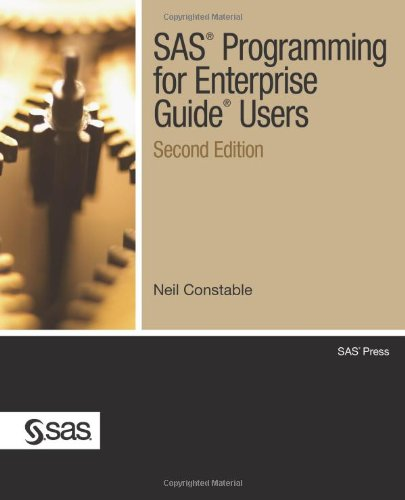 SAS� Programming for Enterprise Guide� Users  2nd 2010 9781607645283 Front Cover