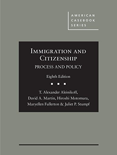 IMMIGRATION+CITIZENSHIP:PROCESS+POLICY  N/A 9781634599283 Front Cover