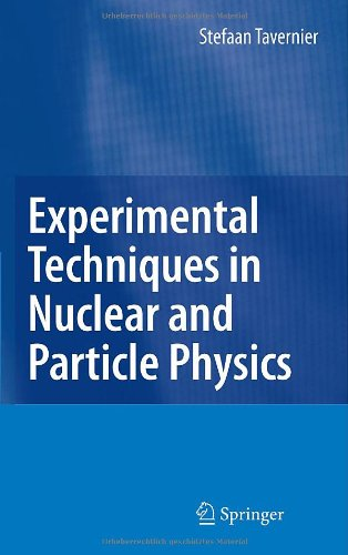 Experimental Techniques in Nuclear and Particle Physics   2010 edition cover