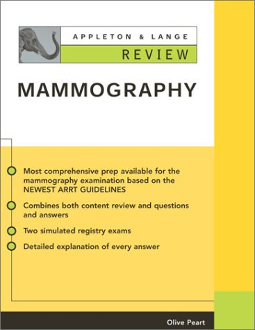 Appleton and Lange Review of Mammography   2002 edition cover