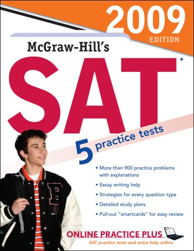 McGraw-Hill's SAT, 2009 Edition  4th 2008 edition cover