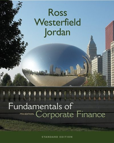 Fundamentals of Corporate Finance Standard Edition + S&P Card + Student CD  7th 2006 (Revised) edition cover