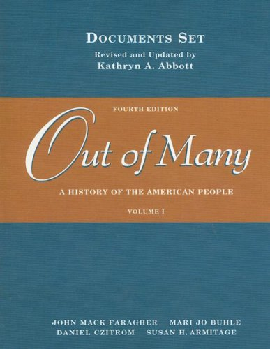 Out of Many A History of the American People 4th 2003 edition cover