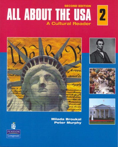 All about the USA 2 A Cultural Reader 2nd 2008 edition cover