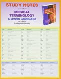 Study Notes for Medical Terminology A Living Language 5th 2013 (Revised) edition cover
