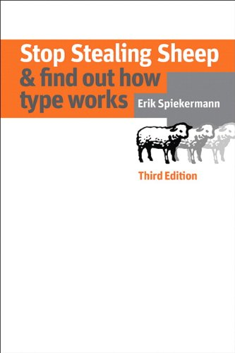 Stop Stealing Sheep and Find Out How Type Works, Third Edition  3rd 2014 edition cover