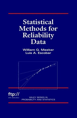 Statistical Methods for Reliability Data  1st 1998 edition cover