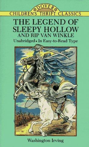 Legend of Sleepy Hollow and Rip Van Winkle   1995 (Unabridged) edition cover