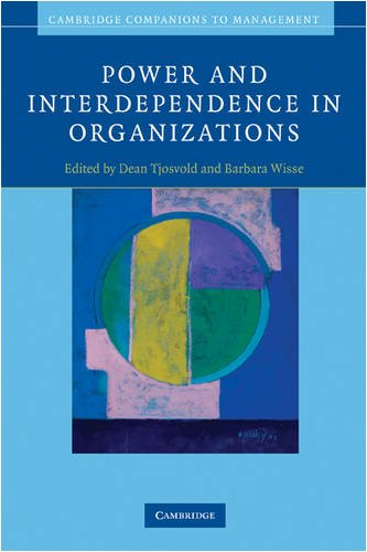 Power and Interdependence in Organizations   2009 edition cover