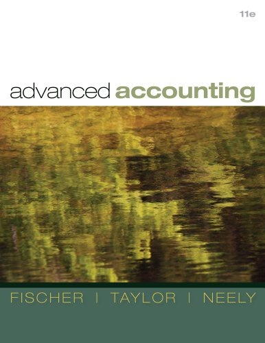 Advanced Accounting  11th 2012 edition cover