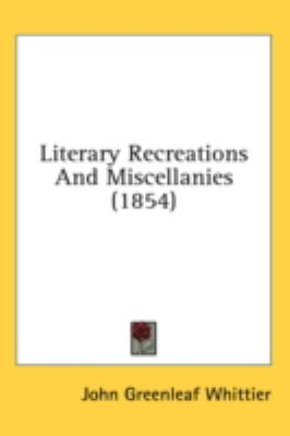 Literary Recreations and Miscellanies  2008 edition cover