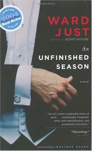 Unfinished Season A Novel  2004 edition cover