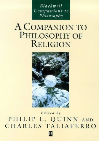 Companion to Philosophy of Religion   1999 (Reprint) edition cover