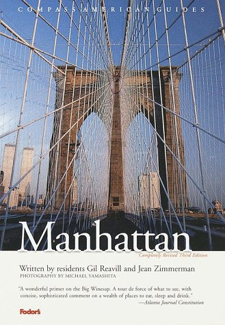 Manhattan  3rd 1999 (Revised) 9780679002284 Front Cover