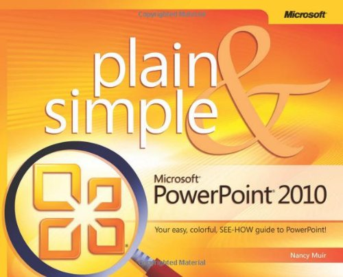 Microsoft� Powerpoint� 2010 Your Easy, Colorful, SEE-HOW Guide to Powerpoint!  2010 edition cover