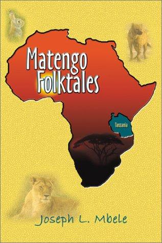 Matengo Folk Tales N/A edition cover