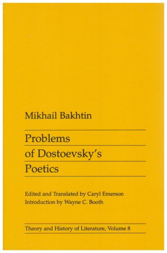 Problems of Dostoevsky's Poetics  N/A edition cover