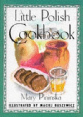 Little Polish Cookbook   1992 9780862813284 Front Cover