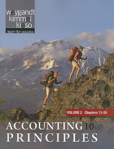 Accounting Principles  10th 2011 edition cover