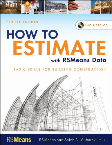 How to Estimate with RSMeans Data Basic Skills for Building Construction 4th 2012 edition cover