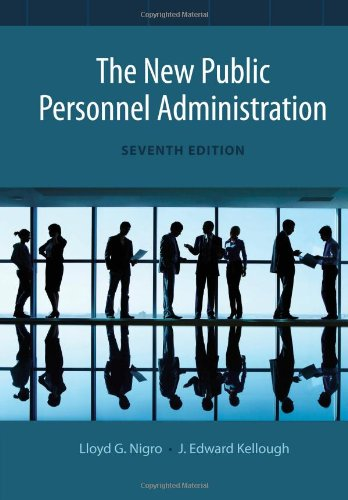 New Public Personnel Administration  7th 2014 edition cover